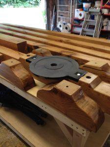 Stockman Shepherd Hut solid oak chassis construction