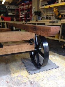 Stockman Shepherd Hut solid oak chassis