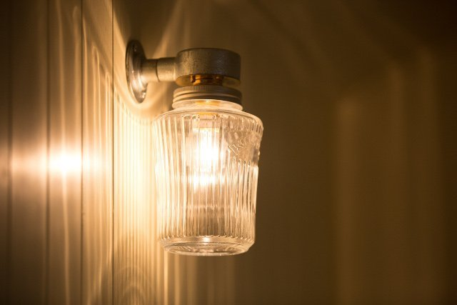 Stockman Shepherd Hut light fitting