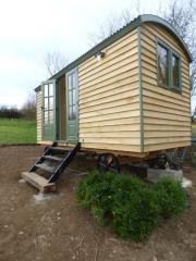Newly Installed Tanglefoot Shepherd Hut