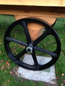 Stockman Shepherd Hut Cast Iron Wheel