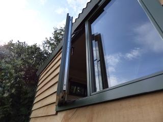 Stockman Shepherd Hut Double Glazed Stormproof Windows