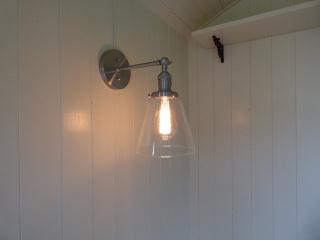 Stockman Shepherd Hut interior lighting