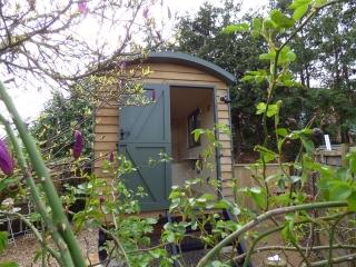 Stockman Panteg Shepherd Hut Exterior