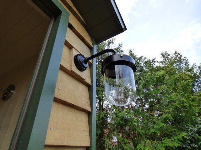 Stockman Shepherd Hut Exterior Lighting