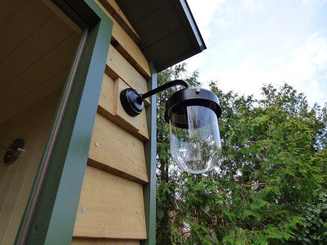 Stockman Shepherd Hut Exterior Lighting