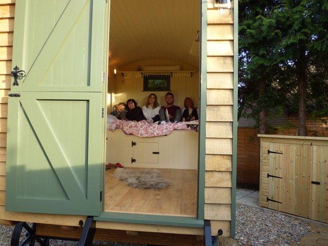 Stockman Panteg Shepherd Hut Interior