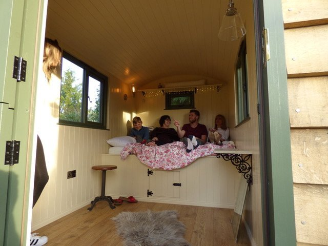 Stockman Panteg Shepherd Hut Interior