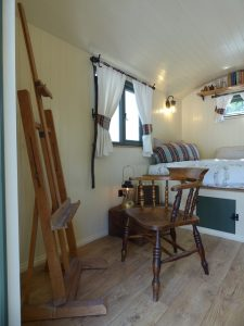 Stockman Shepherd Huts Panteg Interior
