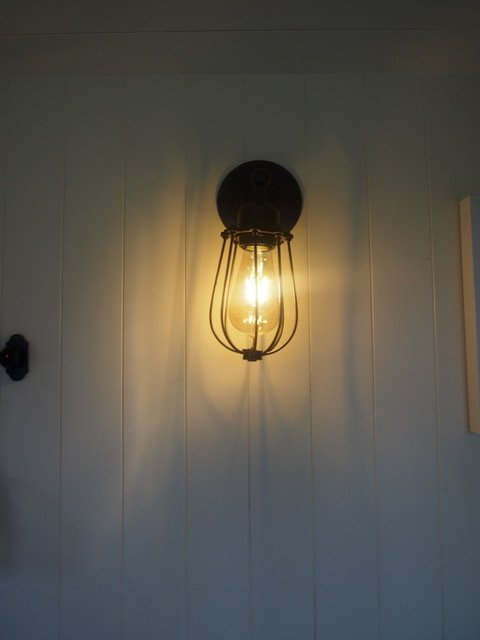 Stockman Shepherd Hut Interior Lighting
