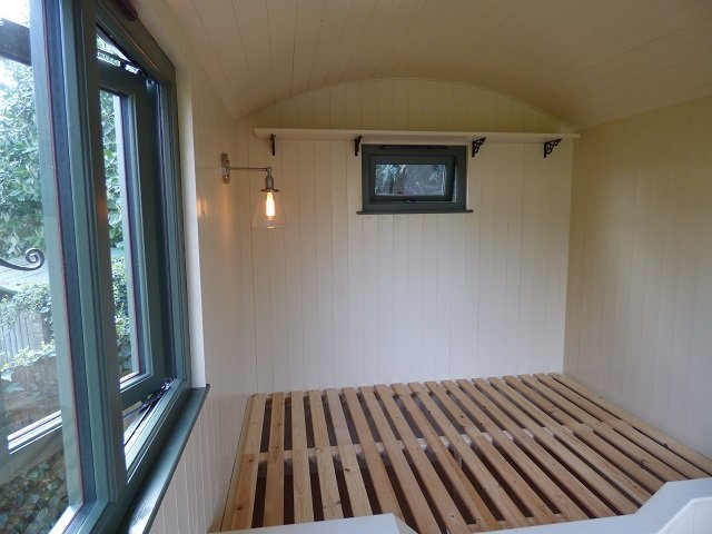 Stockman Shepherd Hut interior