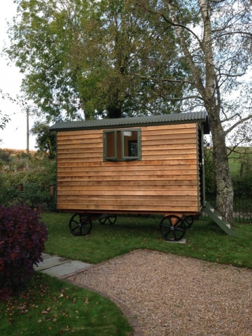 Stockman Panteg Shepherd Hut