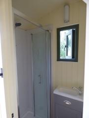 Stockman Shepherd Hut Ensuite Shower Room