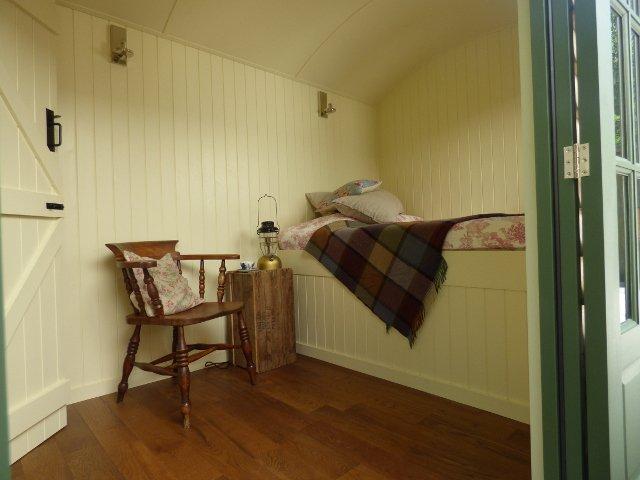 The Conrah Hotel Hut interior