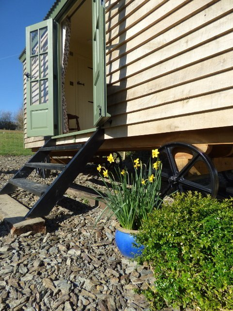 Stockman Shepherd Hut at The Three Spaniels