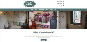 Stockman Shepherd Huts - Home Page Screenshot