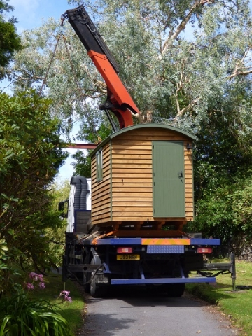 Bespoke Shepherd Hut Delivery