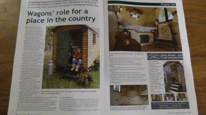 Pembrokeshire Life article