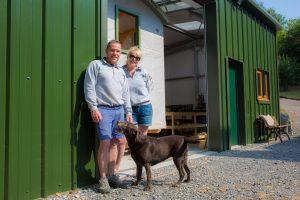 Emma & Paul from Stockman Shepherd Huts
