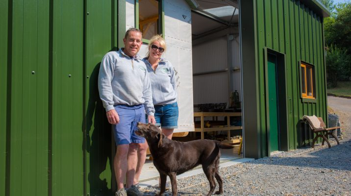 Emma & Paul from Stockman Shepherd Huts