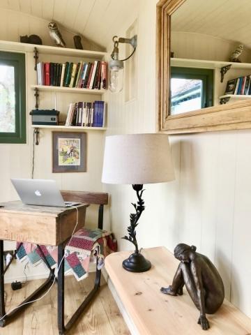 Stockman Shepherd Hut interior view