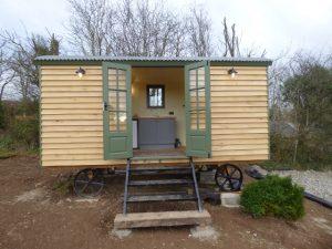 Recently Installed Stockman Shepherd Hut