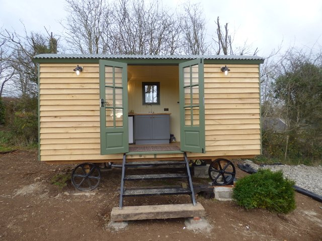 Recently Installed Stockman Shepherd Hut