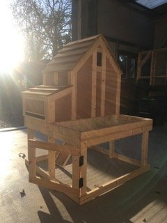 Oak Chicken House