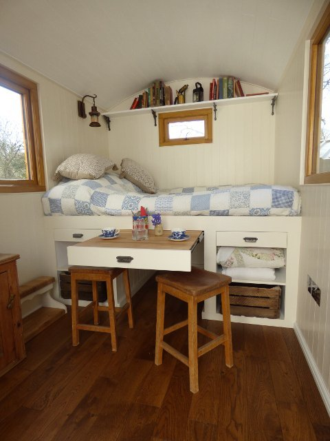 Stockman Ready Made Shepherd Hut Interior