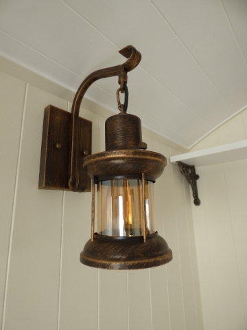 Ready Made Hut Interior Light