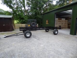 Shepherd hut metal chassis