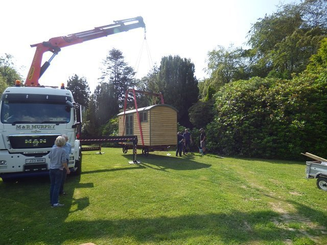 Delivery of Bespoke Shepherd Hut