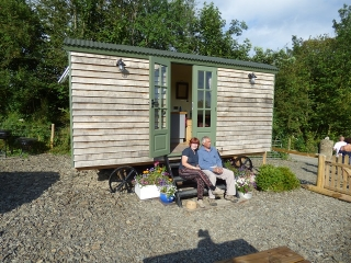 Handmade Bespoke Shepherd Hut for Holiday Let