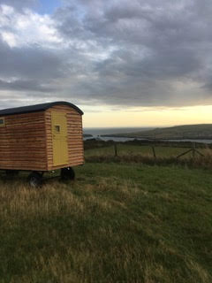 Shepherd hut Pembrokeshire Coast