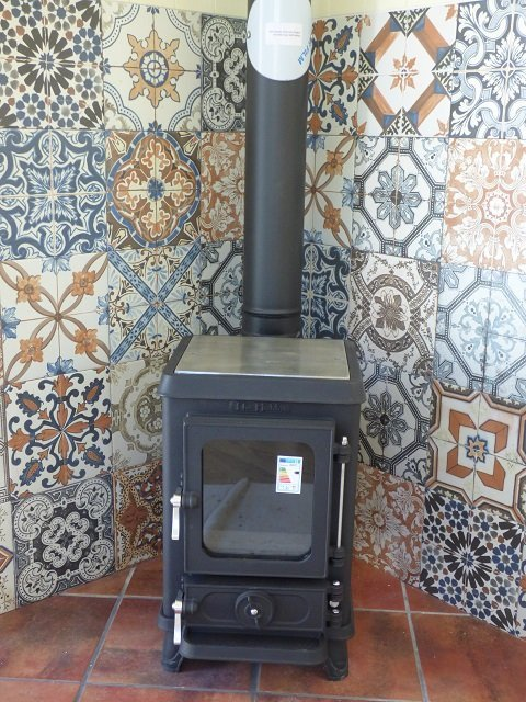 Stove in Shepherd Hut