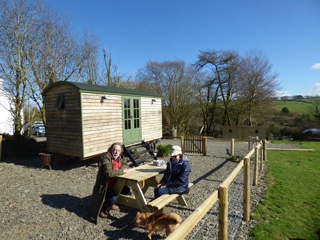 Traditional Handmade Shepherd Hut by Stockman Shepherd Huts - Holiday Let