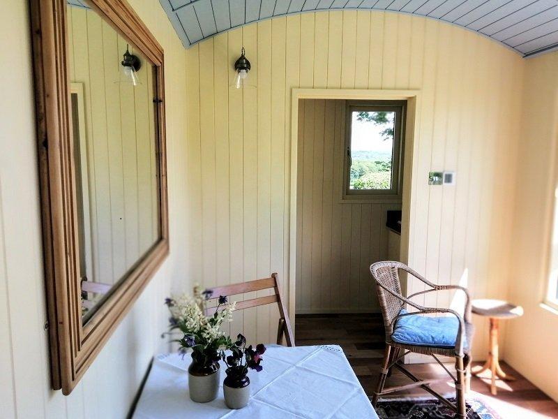 Bespoke Shepherd Hut Interior