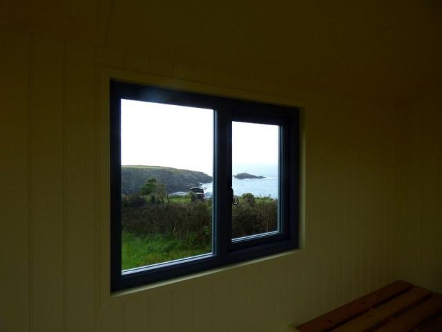 Shepherds Hut Window View