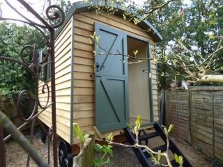 Stockman Shepherd's Hut with stable door