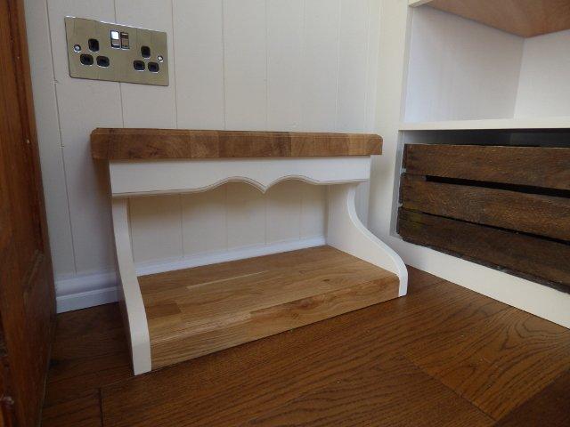Bespoke oak steps