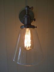 Shepherd Hut interior light example