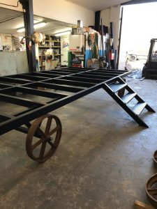 Stockman Shepherd Huts Steel Framed Chassis