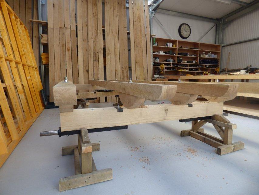 Stockman Shepherd Huts Oak Chassis